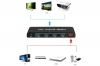 Connettore supporto hdmi full HD 4 ingressi hdmi 1x4 hdmi splitter 1080P 3D