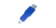 Adattatore accoppiatore connettore usb 3.0 maschio mini usb AM-Mini 10P