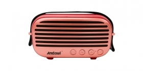 Cassa speaker bluetooth radio vintage retro' portatile Mp3 USB TF card QY-H69