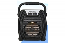 Cassa speaker ZQS-1411 bluetooth usb aux TF ricaricabile FM radio portatile