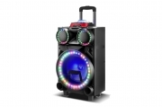 Cassa trolley speaker RX1030 impianto audio portatile altoparlante bluetooth usb