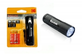 Kodak Torcia 9 LED 46 lumen flashlight nera 30412446