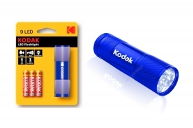 Kodak Torcia 9 LED 46 lumen flashlight blu 30412453