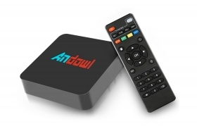 Android tv box 4K HD 7.1. smart tv 16GB wifi telecomando Q-999L