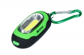 Mini torcia kodak led flashlight 1W 50 lumens verde portatile handy 50