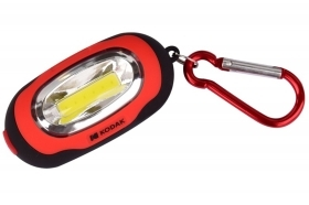 Mini torcia kodak led flashlight 1W 50 lumens rossa portatile handy 50