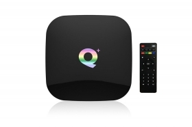 Smart tv q plus android tv box 6K 64gb ultra HD 9.0 dual wifi 2.4 usb 3.0 wifi