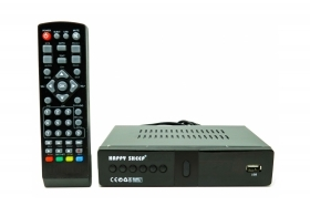 Decoder DVB-T2 full HD ricevitore digitale terrestre 1080 USB HDMI MPEG4 HD-888