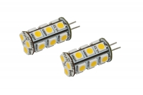 Coppia lampadine 18 led smd at