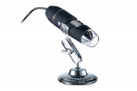 Microscopio digitale 1600X 8 led USB portatile zoom lente di ingradimento A-X03