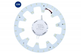 Kit led smd 22w luce calda rot
