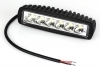 Faro led supplementare faro auto fuoristrada Suv rettangolare 6 led 18w