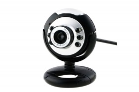 Webcam con microfono usb 2.0 v