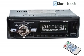 Autoradio stereo bluetooth 50Wx4 con ingresso AUX USB SD MP3 auto camper LM-7231