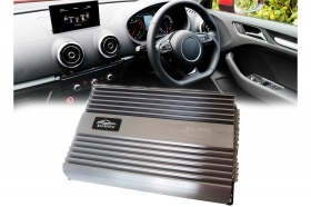 Amplificatore audio per auto s