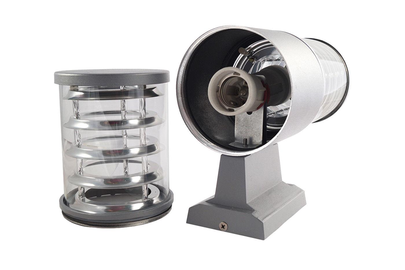 Plafoniera Da Esterno Con Telecamera : Bes applique beselettronica esterno grigio