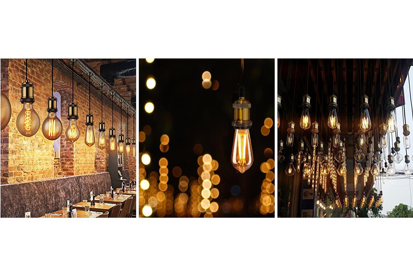Bes 24958 lampadari beselettronica porta lampada lampadina