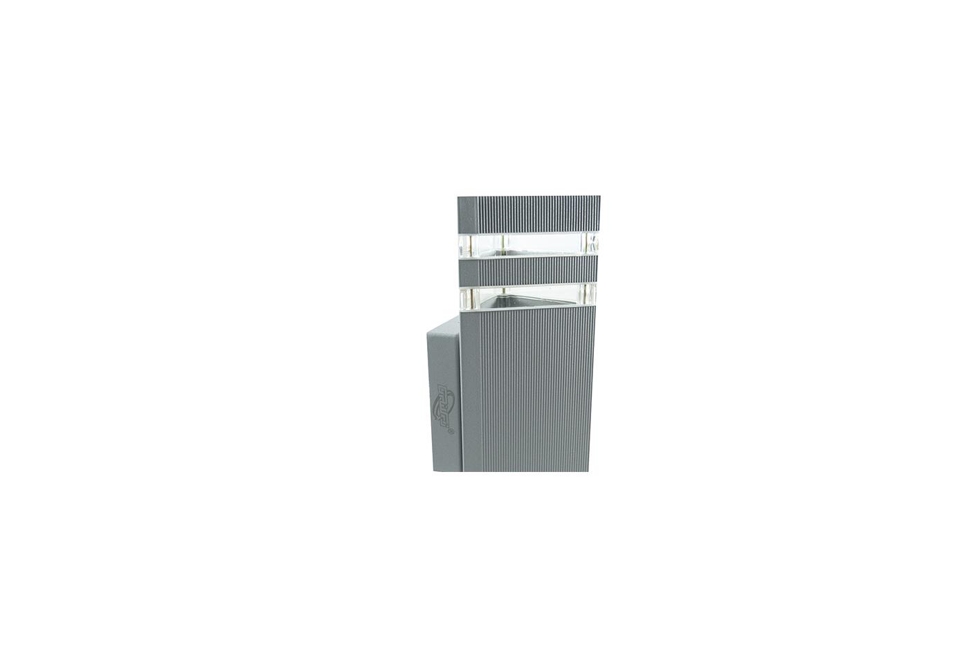 Bes applique beselettronica applique esterno grigio
