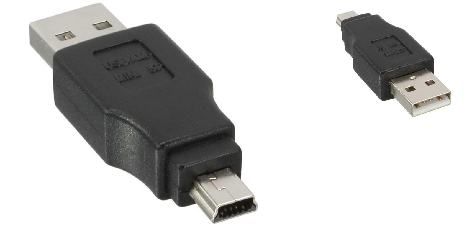 USB 2.0 un maschio a 2.0 Donna Adattatore Convertitore Video Accoppiatore Estensione