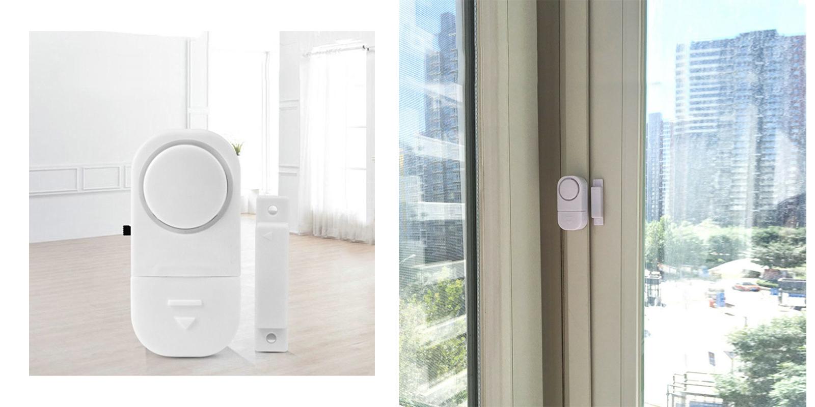 Porta Finestra Ingresso Casa dettagli su allarme antifurto sensore magnetico sicurezza ingresso porta  finestra casa dr