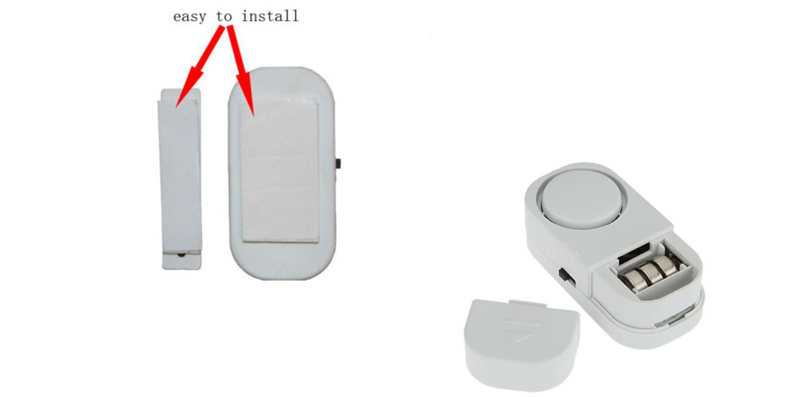 Porta Finestra Ingresso Casa allarme antifurto sensore magnetico sicurezza ingresso porta finestra casa  dr