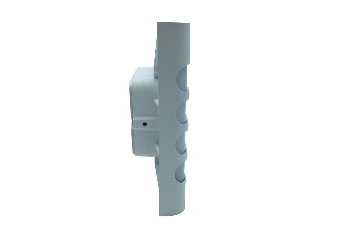 Bes 25712 applique beselettronica lampada parete bianco