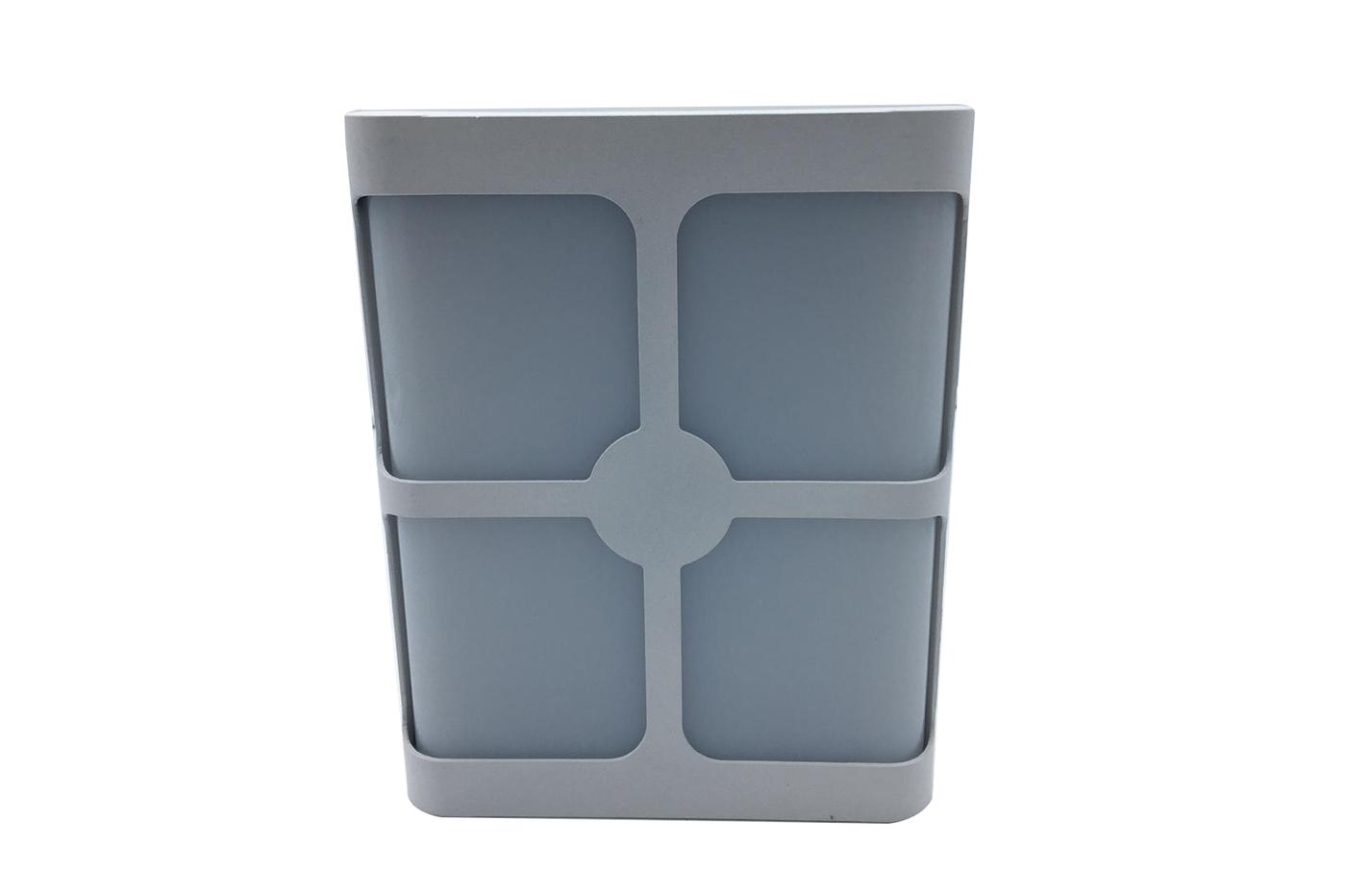 Bes applique beselettronica lampada parete bianco