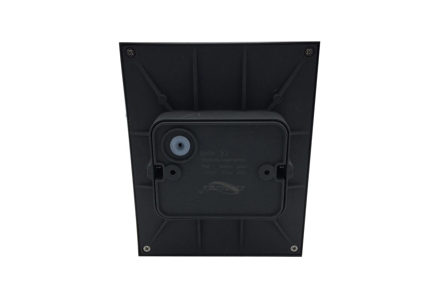 Bes applique beselettronica lampada parete nero
