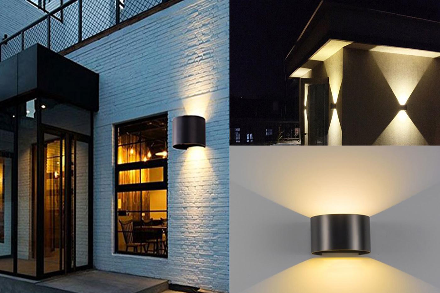 Applique da parete con filo esterno luci esterno ikea decorazioni