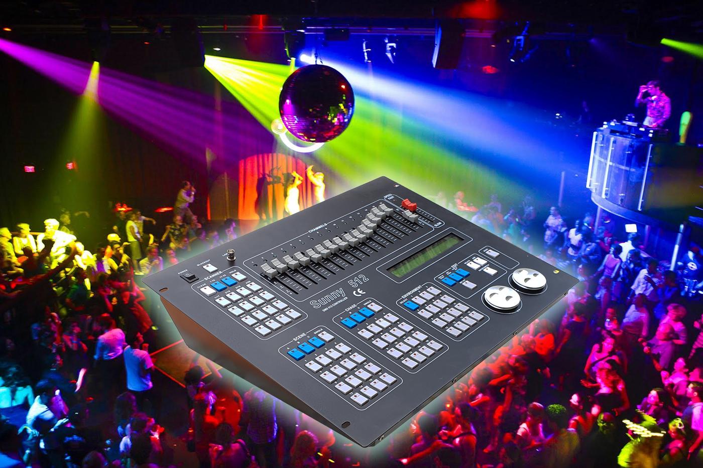 Bes 24471 feste e party beselettronica controller dmx 512