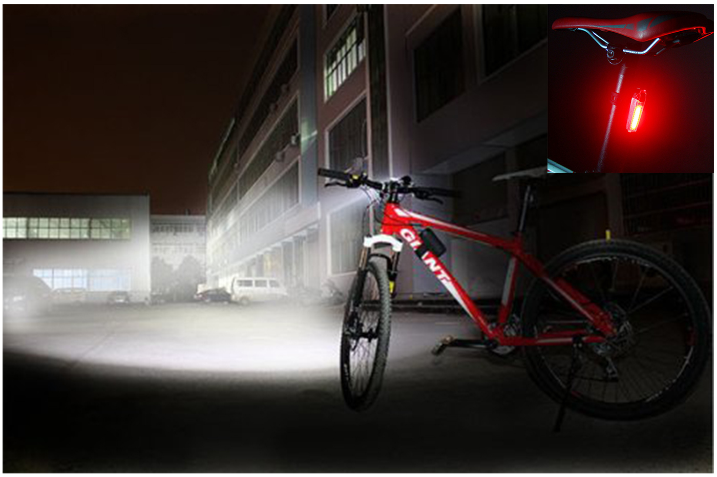 Bes 25340 bici beselettronica kit illuminazione bici faro led