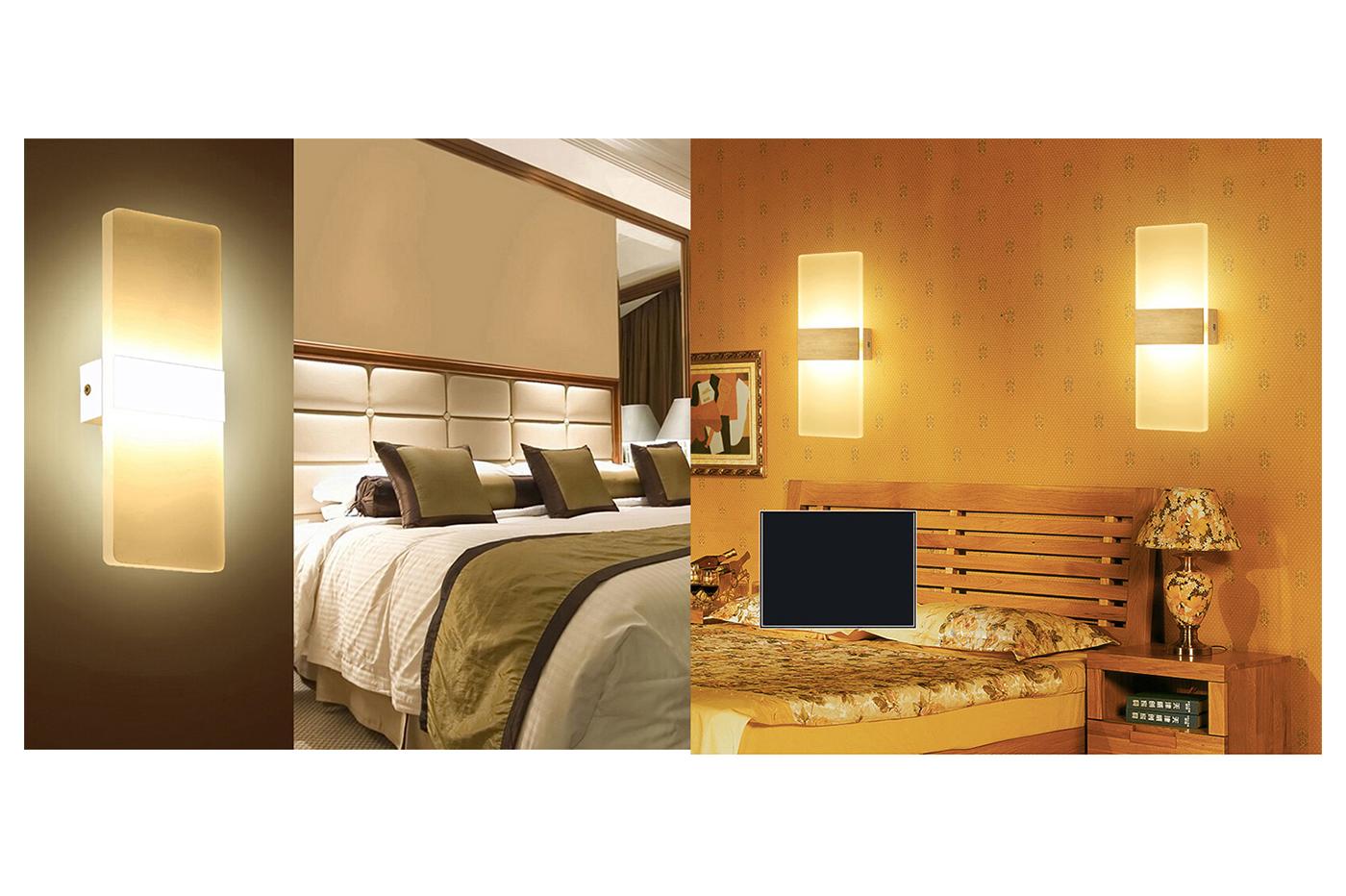 Bes 25075 applique beselettronica lampada da parete applique