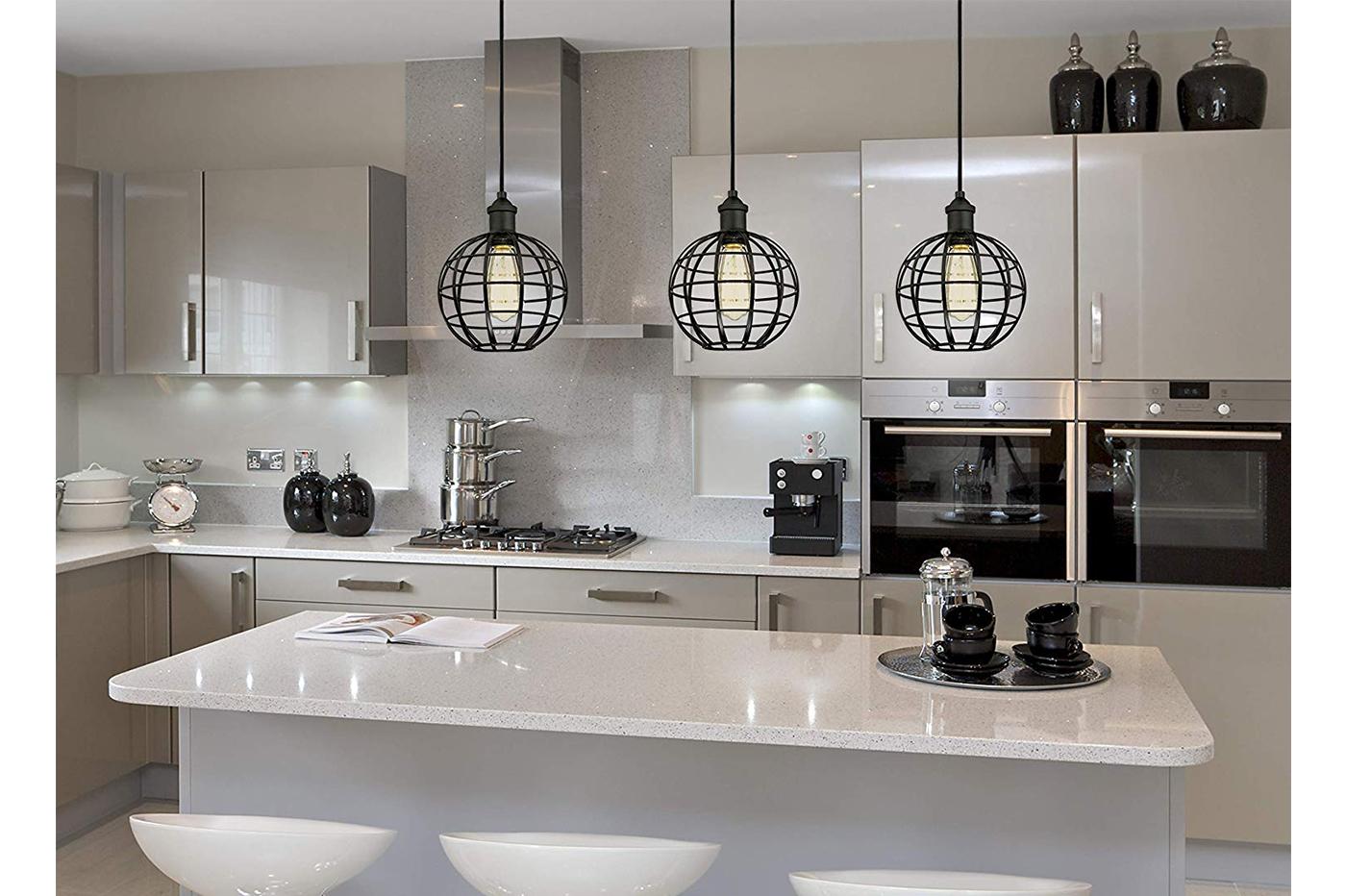 Lampadari Per Casa Al Mare lampadario gabbia in metallo industriale retro e27 pendente vintage ty004