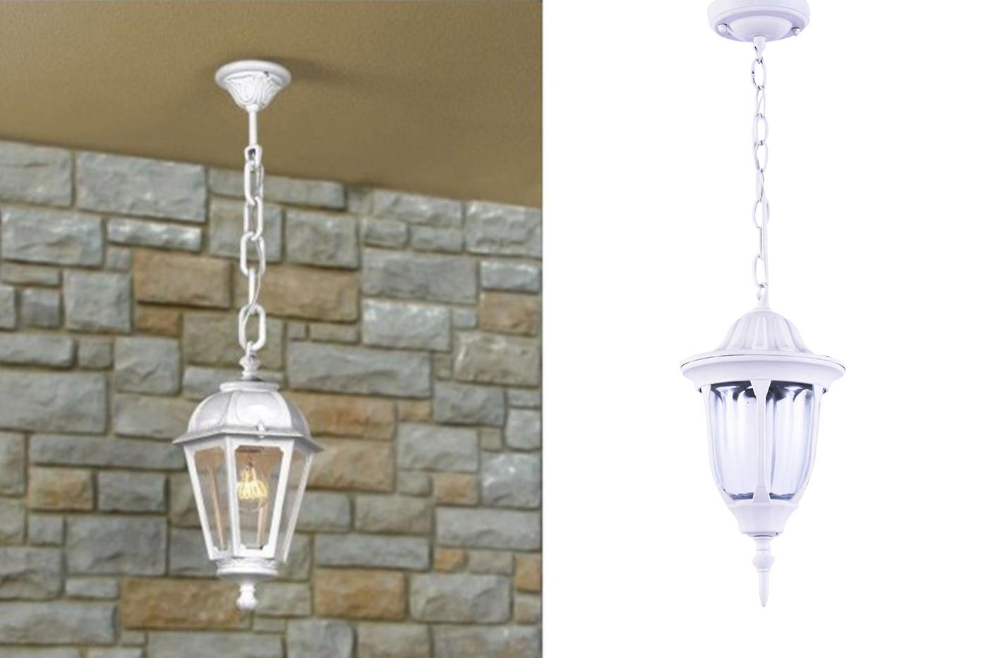 Lanterna da esterno bianca lanterna da parete bianca bes applique
