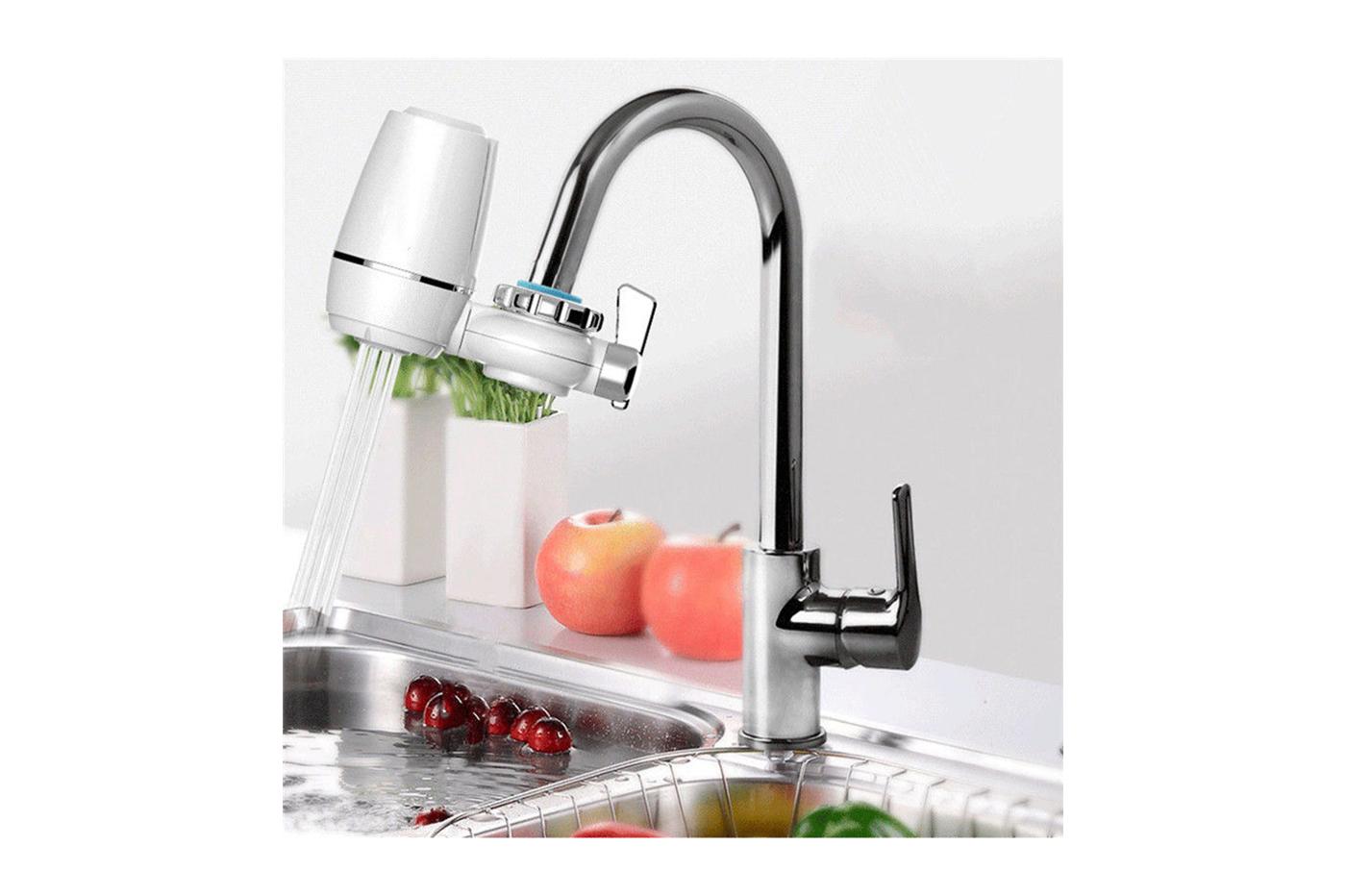 Purificatore filtro acqua rubinetto purifica cucina cloro zsw a
