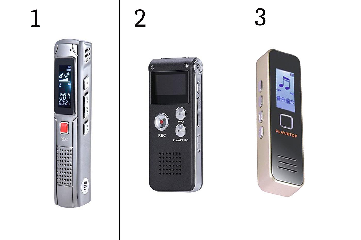 Socobeta Registratore vocale Digitale Registratore a Forma di Disco Mini registratore Audio USB 2.0 Flash Drive