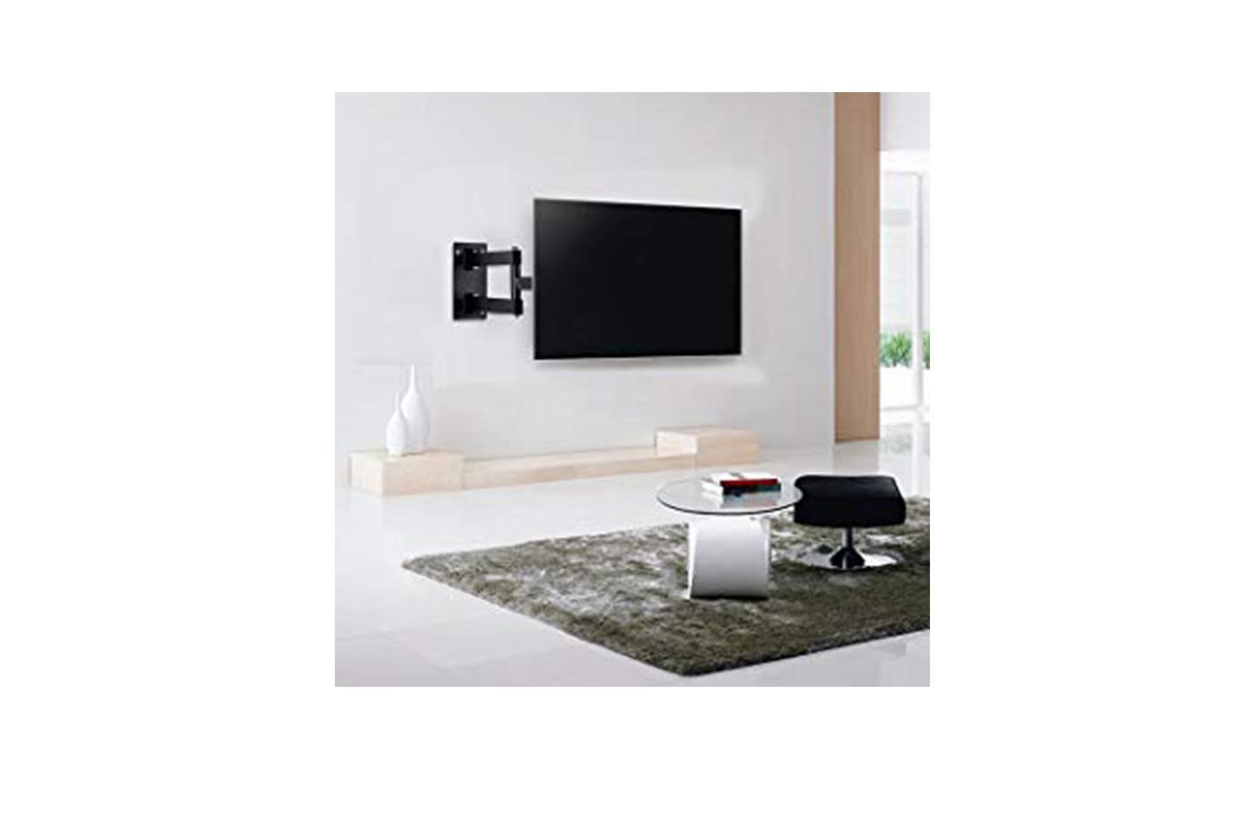 Porta Tv Da Muro.Dettagli Su Supporto Tv Staffa Braccio Lcd Porta Tv Da Parete Da 10 A 27 Hdl 118