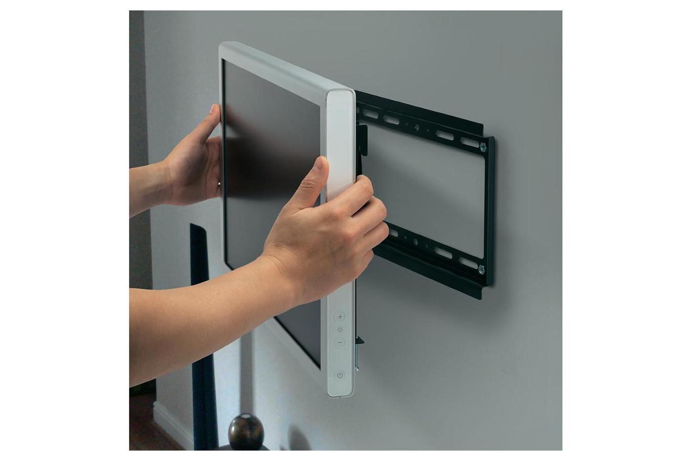 """Appendere Tv Muro supporto tv staffa braccio per tv lcd plasma fisso parete da 32"""" a 72"""" hd603"""