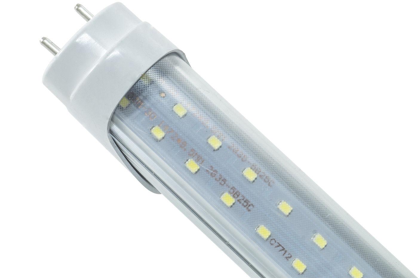 Plafoniera Tubo Led 120 : Plafoniera con tubo led cm t luce fredda w attacco